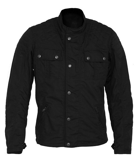 IRON WAXED COTTON JACKET