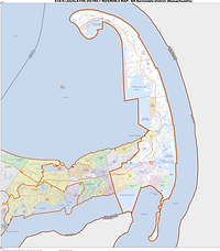 4th Barnstable district map.png