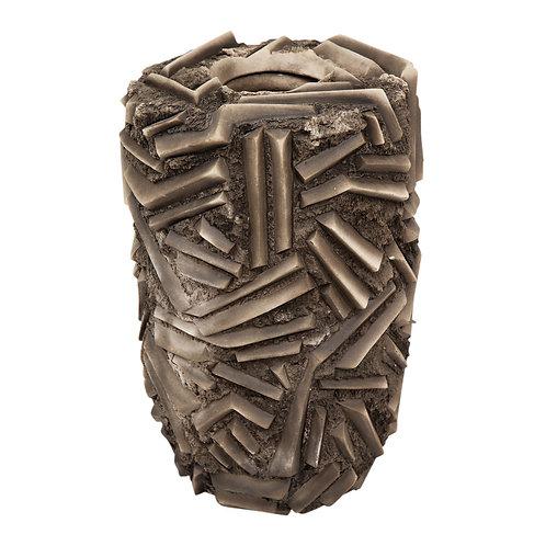 Rob Sieminski Ceramic Vase, Brown