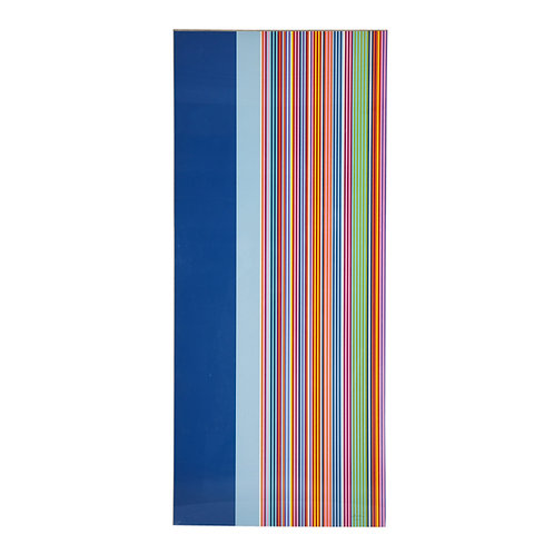 Yankee Doodle by Gene Davis, Op Art Screen Print, Stripes, Signed