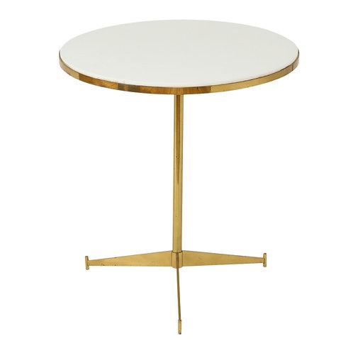 Paul McCobb Side Table, Brass Cigarette