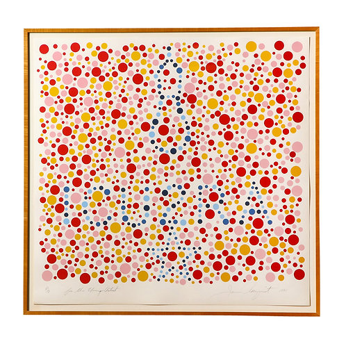 For The Young Artist by James Rosenquist, Screen Print, Signed