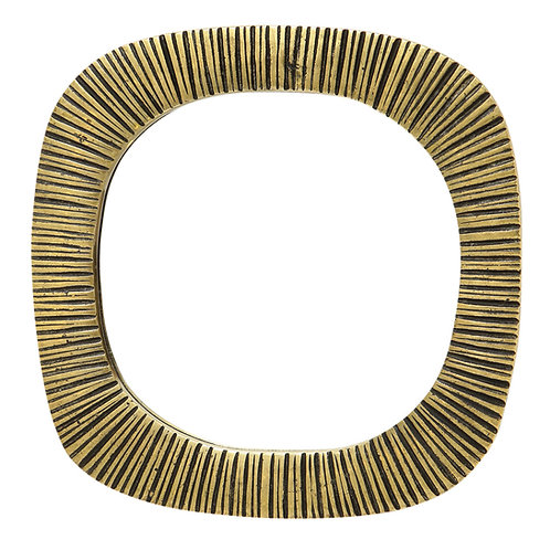 Bronze Mirror, Ribbed