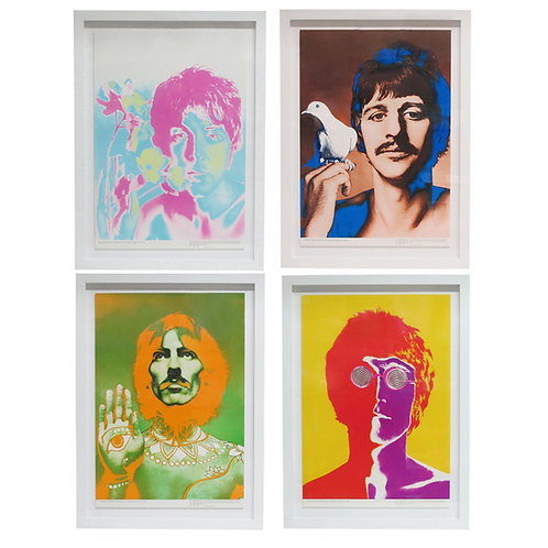 Richard Avedon The Beatles by Richard Avedon, Offset Lithographs, Stern Magazine