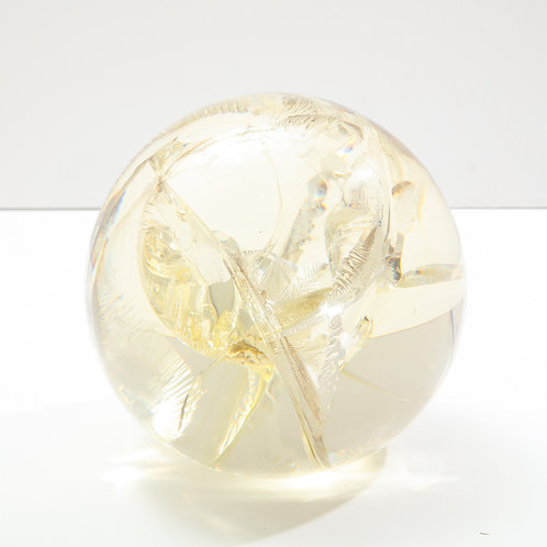 Pierre Giraudon Fractured Resin Sphere