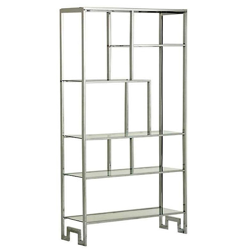 Chromed Steel Etagere for DIA