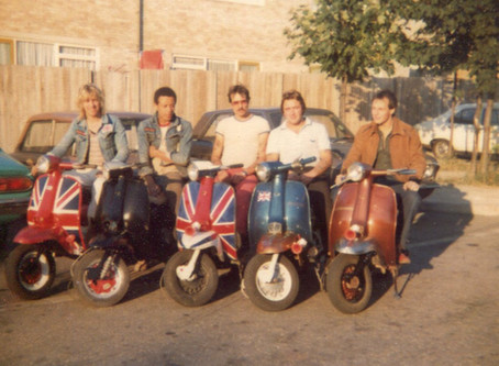 The Amalga Scooter Club