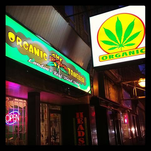 Organic Traveller Storefront