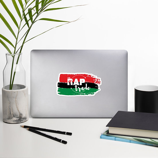 "TheRapTrade- ""Pan-African Movement"" (sticker)"
