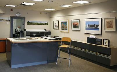 Interior photo of Profiles Studio