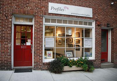 front of profiles Studio