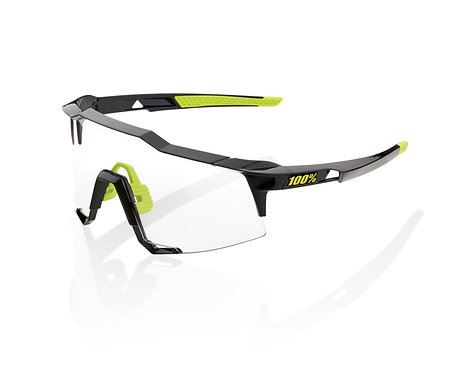 100% Speedcraft Gloss Black Photochromic
