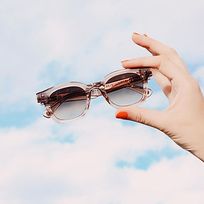 Lunettes de soleil Lilly of the valley de la marque Peter and may