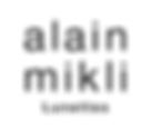 Logo lunettes Alain Mikli