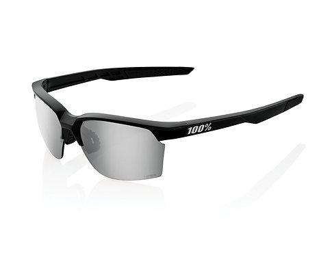 100% Sportcoupe Matte Black HiPER Silver