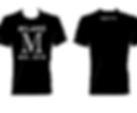 MSCVTR mood t-shirt milano black