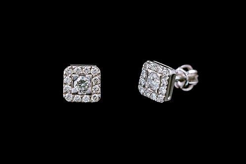 Náušnice CASUAL s diamanty