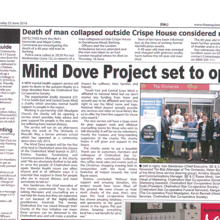 Mind Dove Project set to open