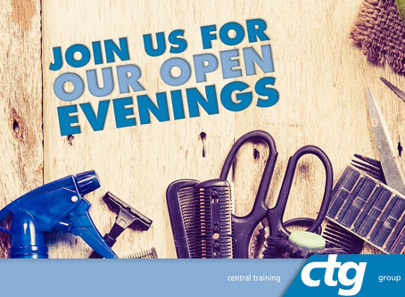 JOIN US FOR OUR OPEN EVENINGS