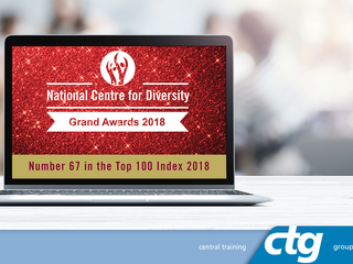 CTG RECOGNISED AS CHAMPIONS OF DIVERSITY