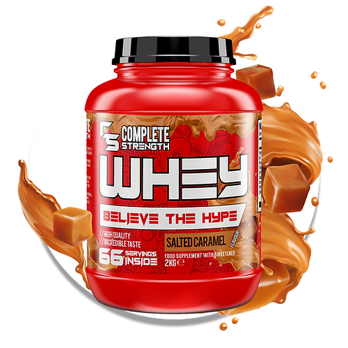 WHEY - Concentrate - 2KG -  Salted Caramel