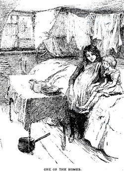 Old etching - one of the rooms