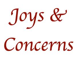 Centenary's Joys and Concerns [September/October 2021]