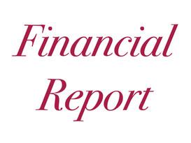 Financial Report [September/October 2021]