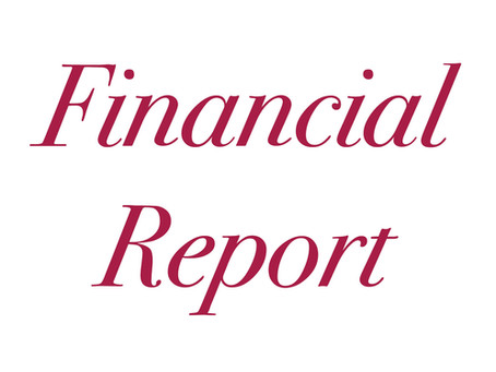 [July 2021] Financial Report