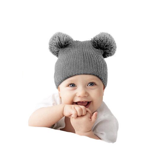 CalLife Unisex Babies' Pompom Beanie Hat