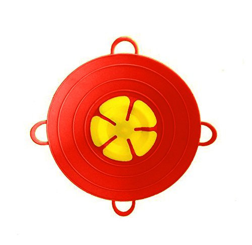 Spill Stopper Lid Pan and Pot Prevent Messy Spillovers 11.5 inch - Multifunction