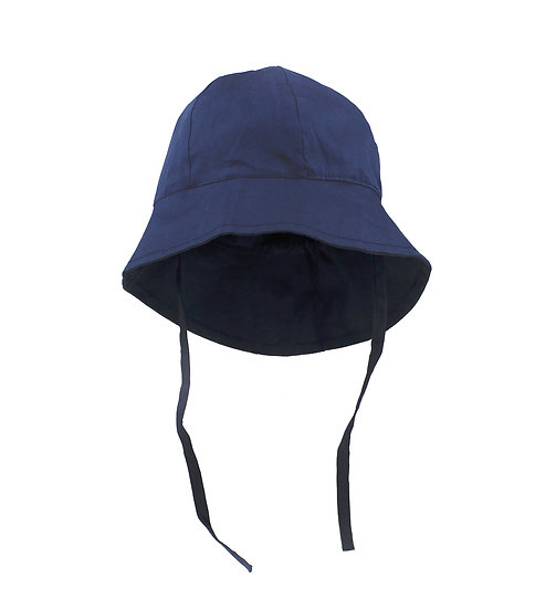 Baby Toddler Kids 50+ UPF Size Adjustable Bucket Sun Hat With Chin Strap