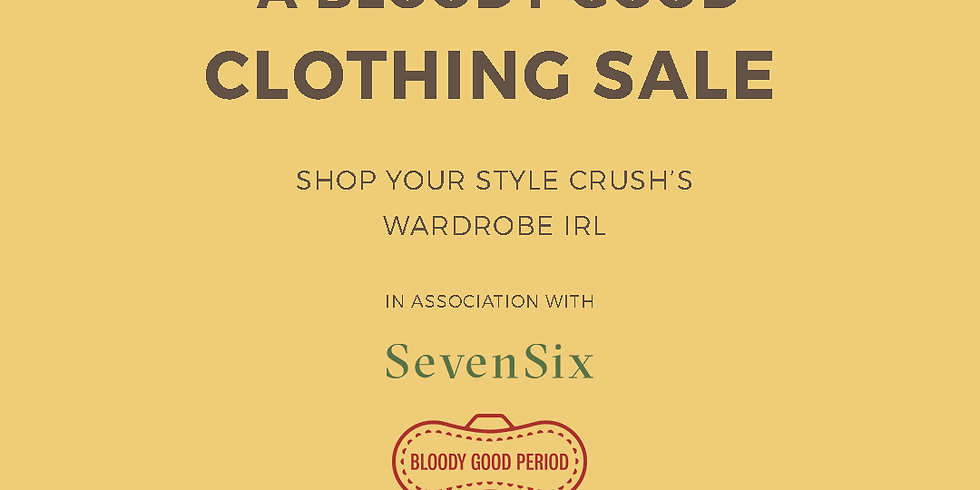 A Bloody Good Clothing Sale hosted by SevenSix
