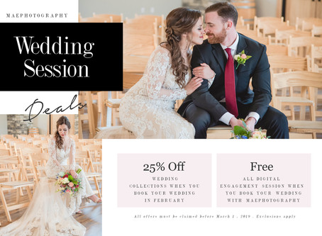 Wedding/Engagement Special!