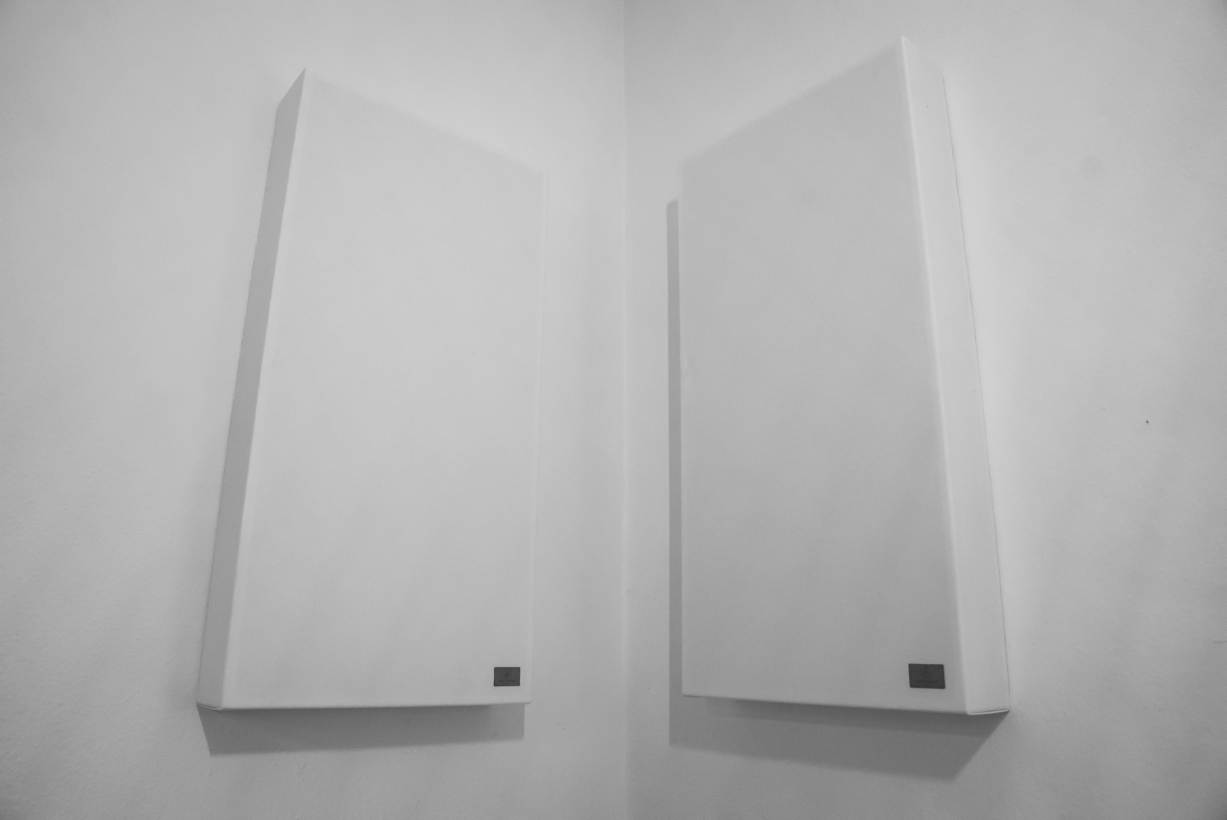Schallabsorber im Raum, Anwendungsbeispiel 2