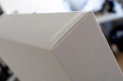 Schallabsorber Detail Kanten