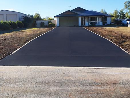 Construction of an Asphalt Driveway Toowoomba