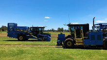 An Australian First ... a FireFly Turf Harvester setup with Ag Leader GPS Precision Technology!