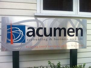 acumen_reception_sign_slumped.jpg