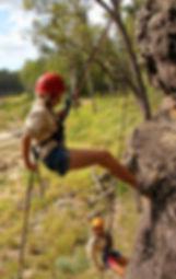 Murphys Creek adventures abseiling