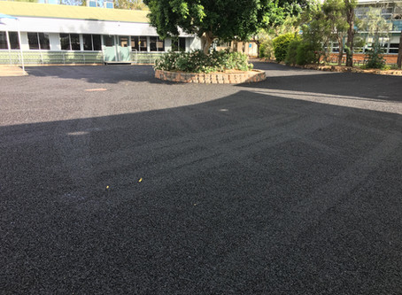 Car Park Reseal at Dalby State High School
