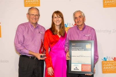 Winners of the 2021 Business Disability Awards - Education & Training Award!