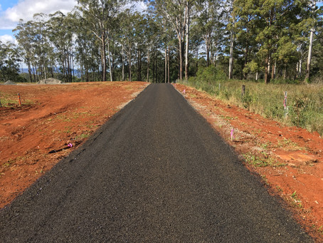 New Road Construction at Cabarlah