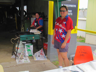 Our First Fundraising Sausage Sizzle Went Well!