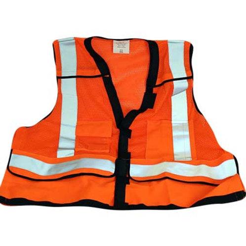 Orange Class 2 Safety Vest
