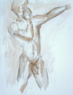 Warrior - Figure Study