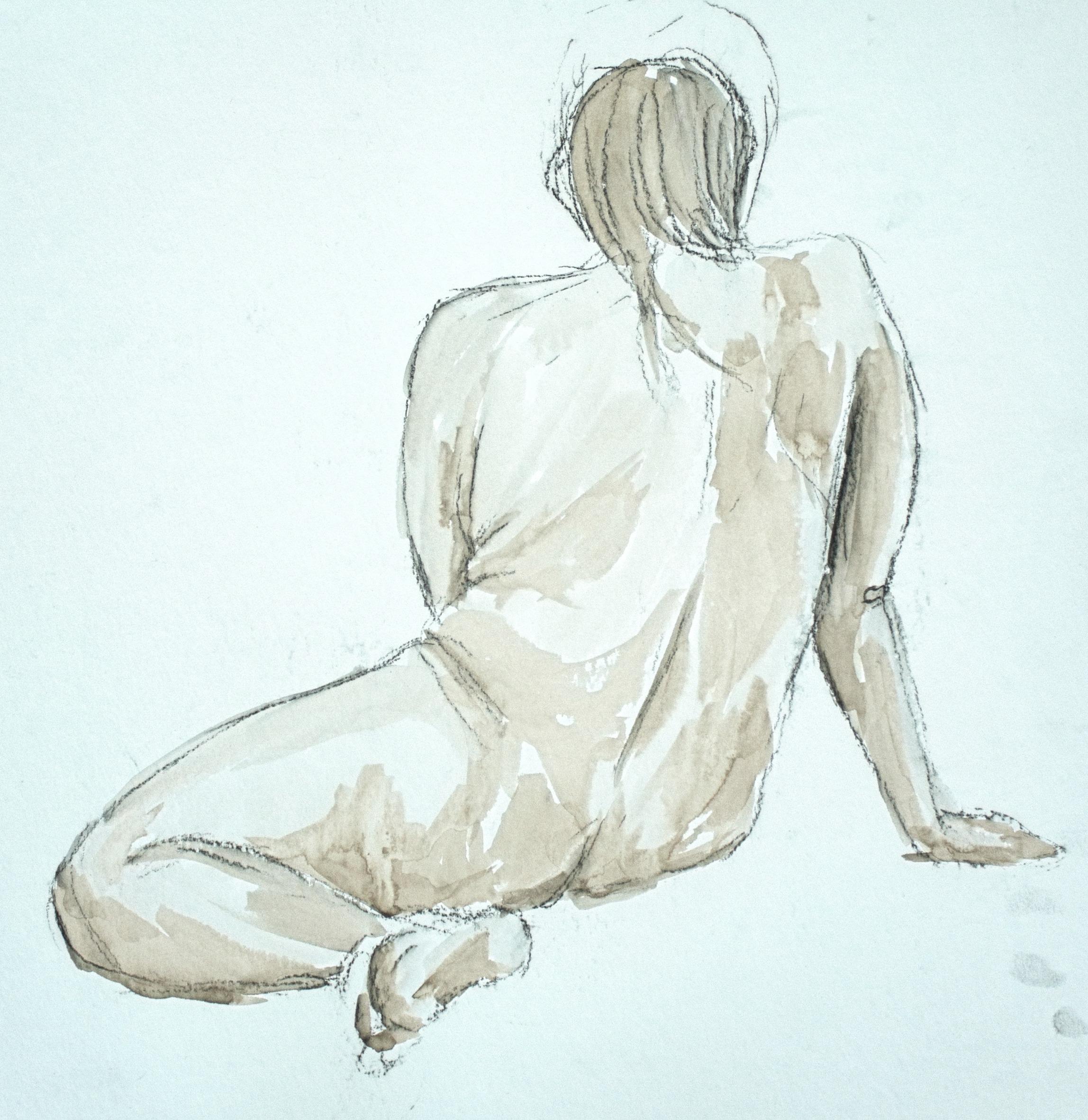 Resting - Figure Study
