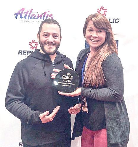 Krista Riihimaki Clovis Scotti Child Disrupted Best Documentary Short Award Winner California Independent Film Festival