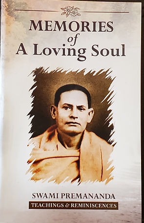 Memories of a Loving Soul Swami Premananda