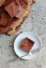 Gluten Free Salted Chocolate Brownies